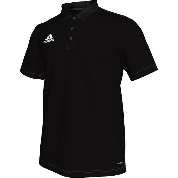 adidas Core 15 Black/White Climalite Polo