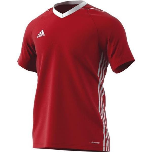 adidas Tiro 17 Power Red/White Football Shirt