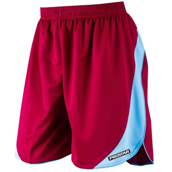 Prostar Sparta Maroon/Sky Football Short