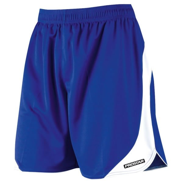 Prostar Sparta Royal/White Football Short