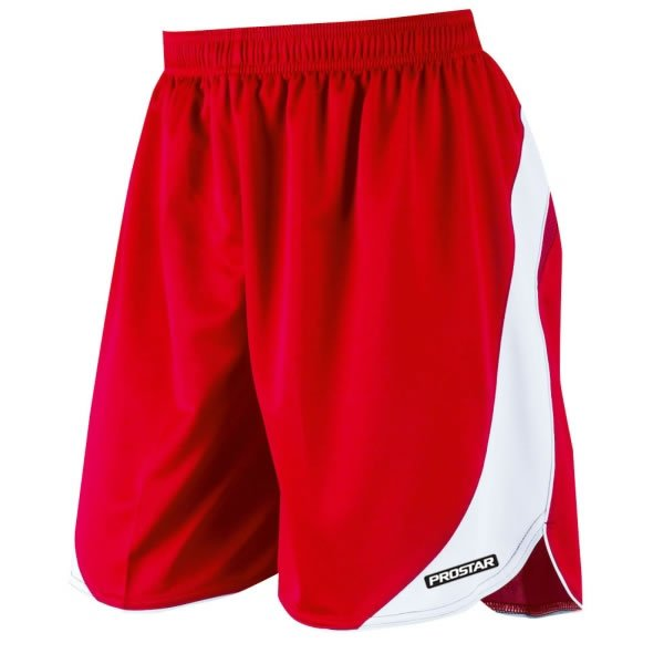 Prostar Sparta Scarlet/White Football Short