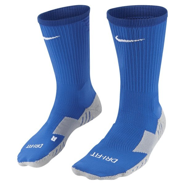 Nike Team Matchfit Crew Royal Blue/White Football Sock