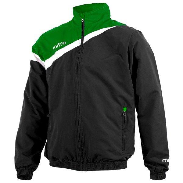 Mitre Polarize Black/Emerald Fleece Lined Wet Jacket
