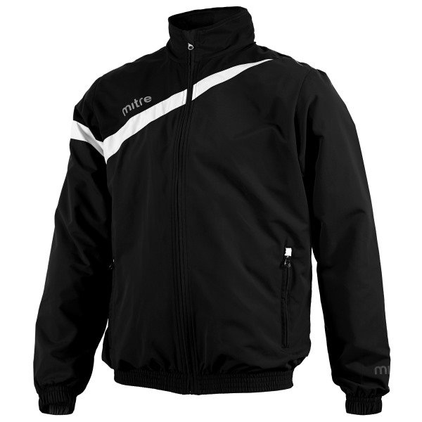 Mitre Polarize Black/White Fleece Lined Wet Jacket