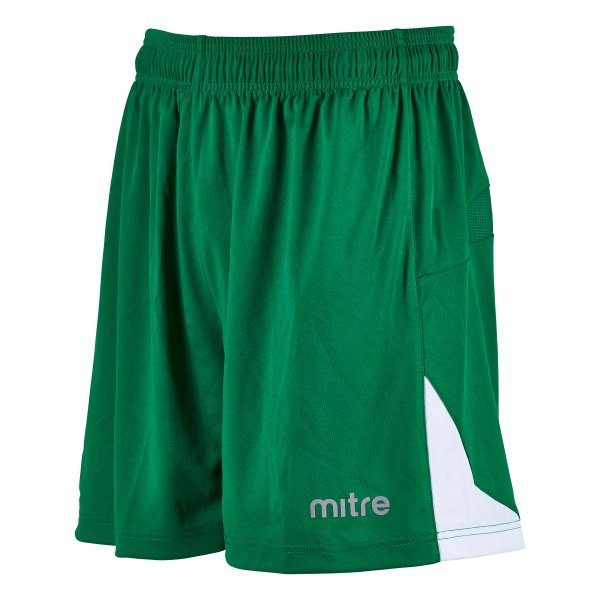 Mitre Prism Emerald/White Football Short