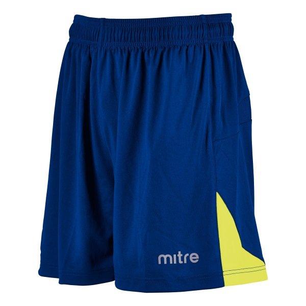 Mitre Prism Royal/Yellow Football Short