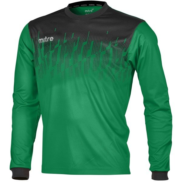 Mitre Command Emerald/Black Goalkeeper Shirt