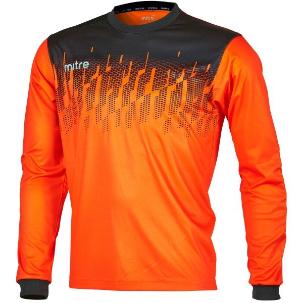 Mitre Command Tangerine/Black Goalkeeper Shirt