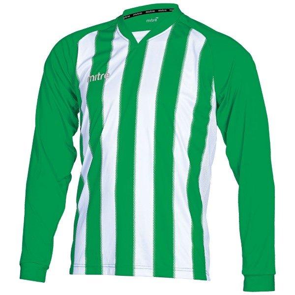 Mitre Optimize Emerald/White Football Shirt