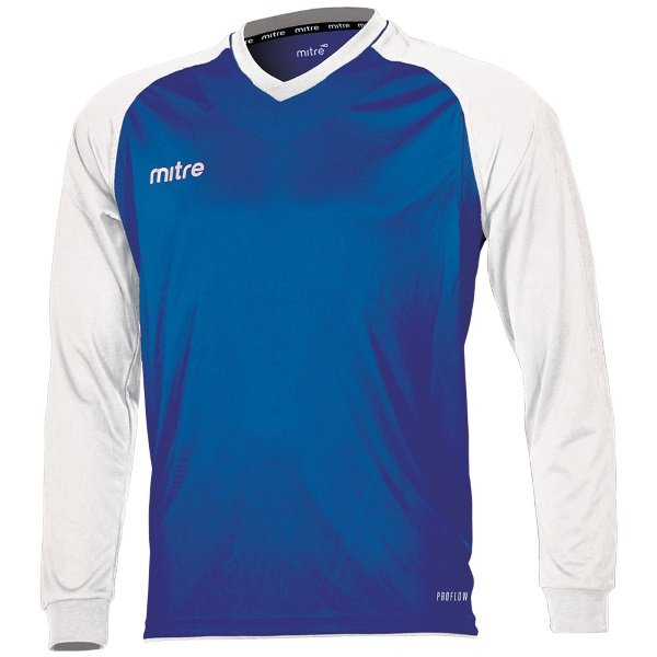 Mitre Cabrio Royal/White Football Shirt