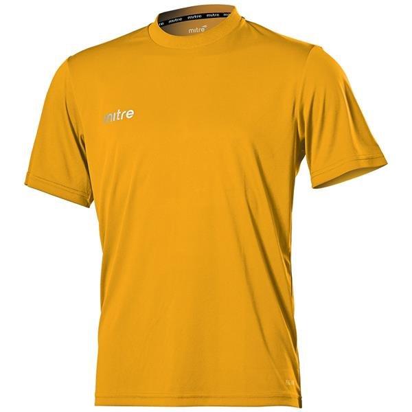 Mitre Camero Amber Football Shirt