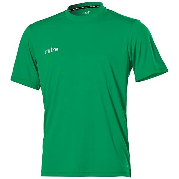 Mitre Camero Emerald Football Shirt