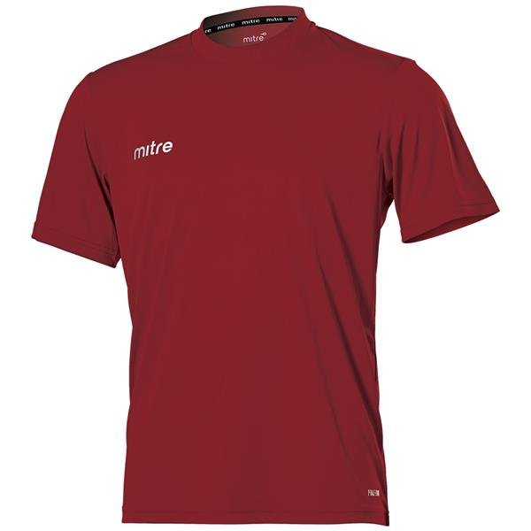 Mitre Camero Maroon Football Shirt