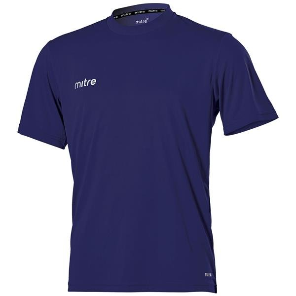Mitre Camero Navy Football Shirt