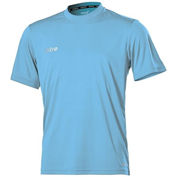 Mitre Camero Sky Football Shirt
