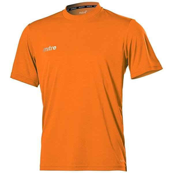 Mitre Camero Tangerine Football Shirt