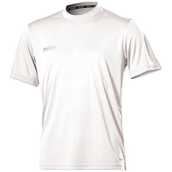 Mitre Camero White Football Shirt