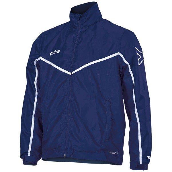 Mitre Primero Rain Jacket Navy/White