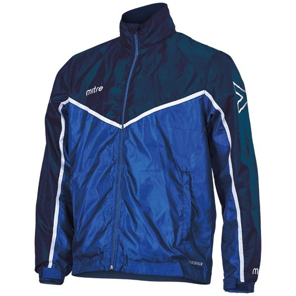 Mitre Primero Rain Jacket Royal/yellow