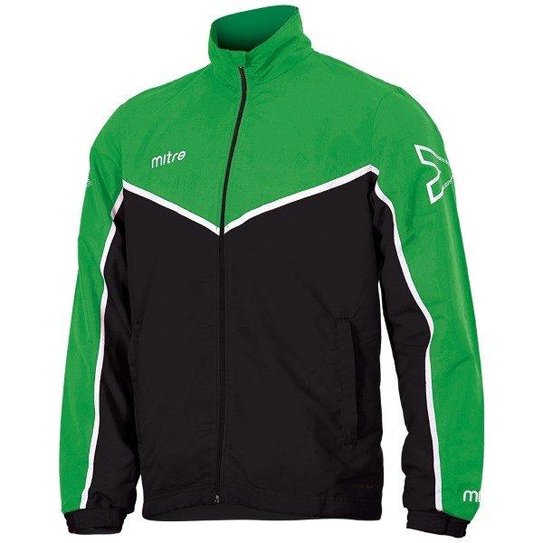 Mitre Primero Woven Track Top Emerald/Black
