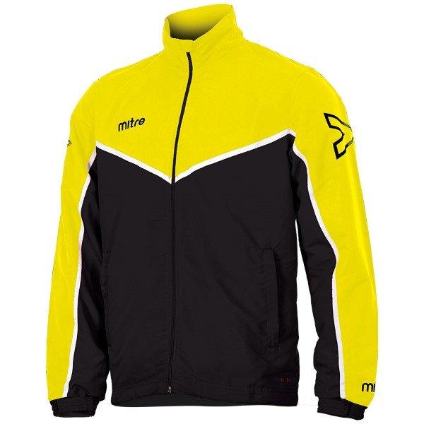 Mitre Primero Woven Track Top Yellow/Black