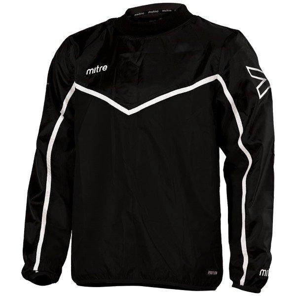 Mitre Primero Overhead Jacket Black/White