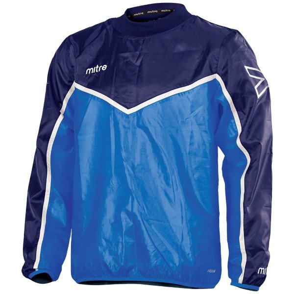 Mitre Primero Overhead Jacket Yellow/royal