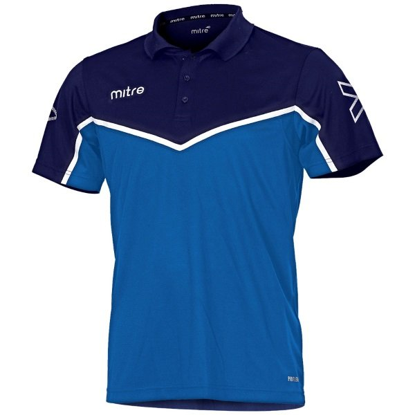 Mitre Primero Polo Shirt Yellow/royal