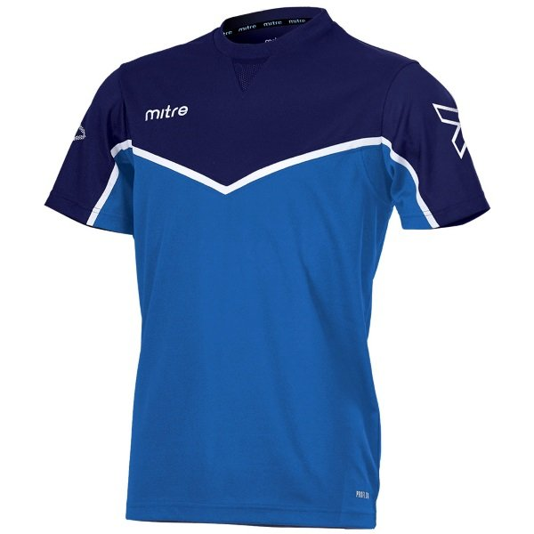 Mitre Primero T-Shirt Royal/yellow
