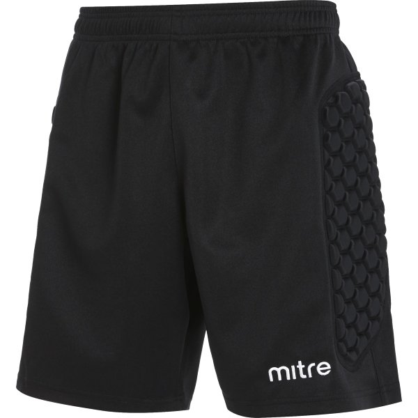 Mitre Guard Black Goalkeeper Short