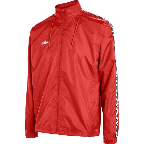 Mitre Delta Scarlet/White Rain Jacket