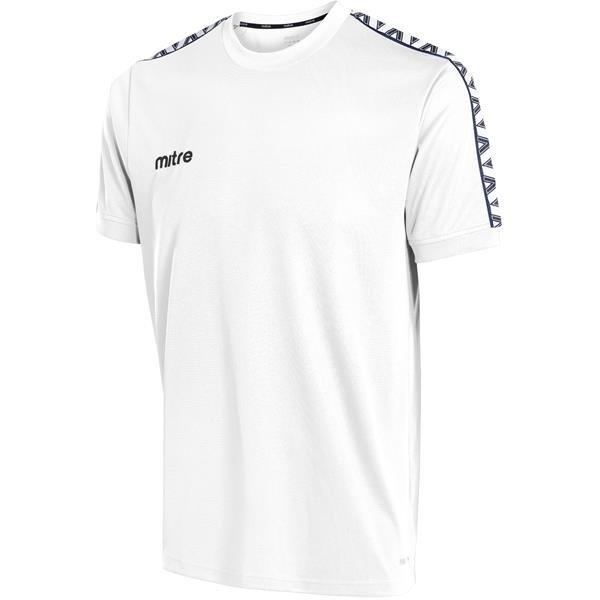 Mitre Delta White/Black T-Shirt