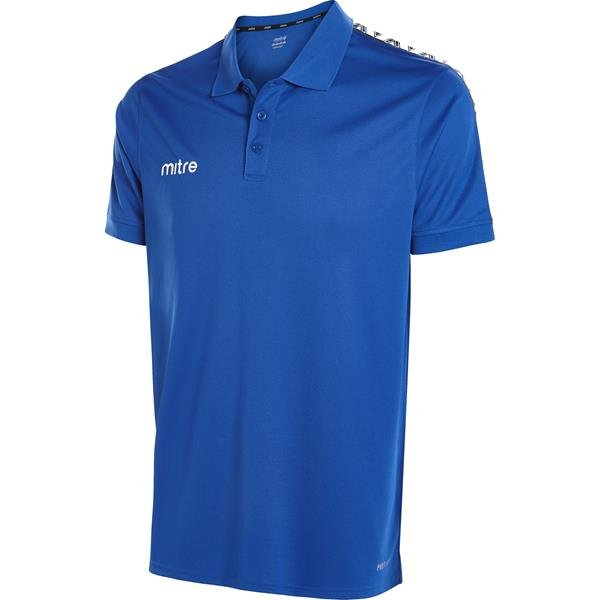 Mitre Delta Royal/White Polo
