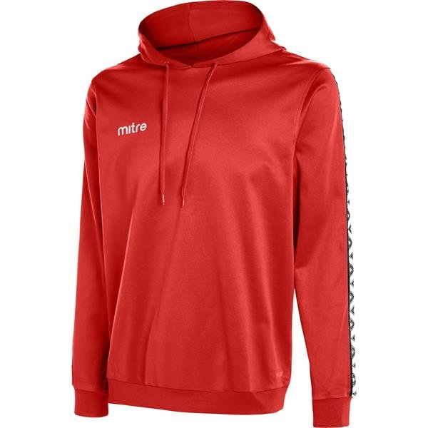 Mitre Delta Scarlet/White Poly Hoody