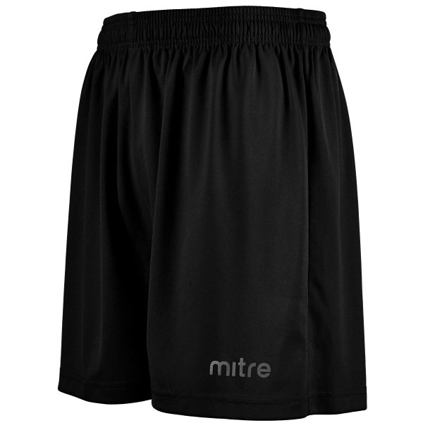 Mitre Metric II Black Football Short