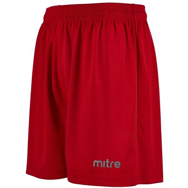 Mitre Metric II Scarlet Football Short