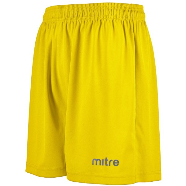 Mitre Metric II Yellow Football Short