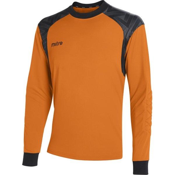 Mitre Guard Tangerine/Black Goalkeeper Shirt