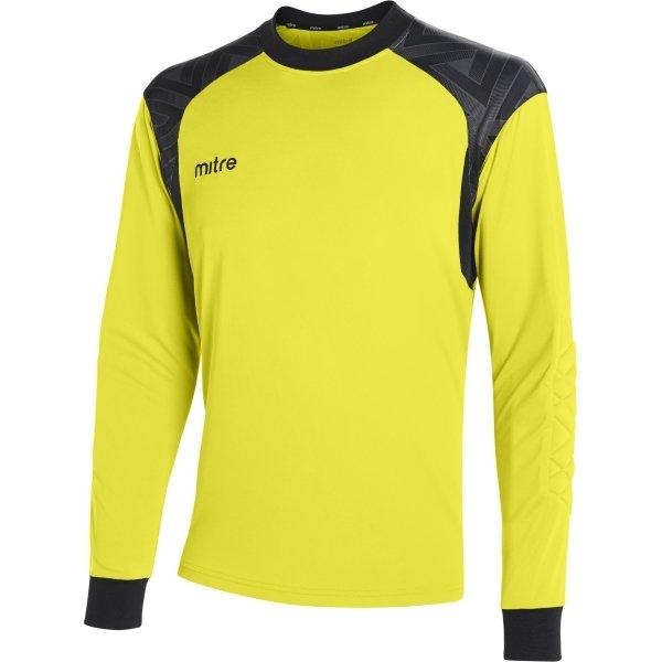 Mitre Guard Yellow/Black Goalkeeper Shirt