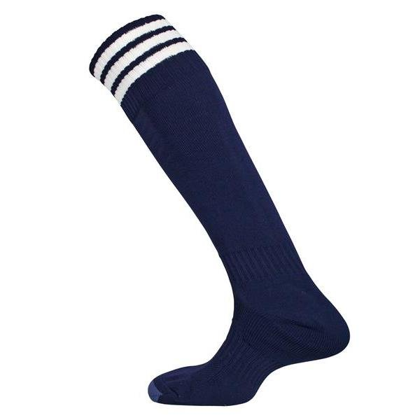 Prostar Mercury Three Stripe Navy/White Sock