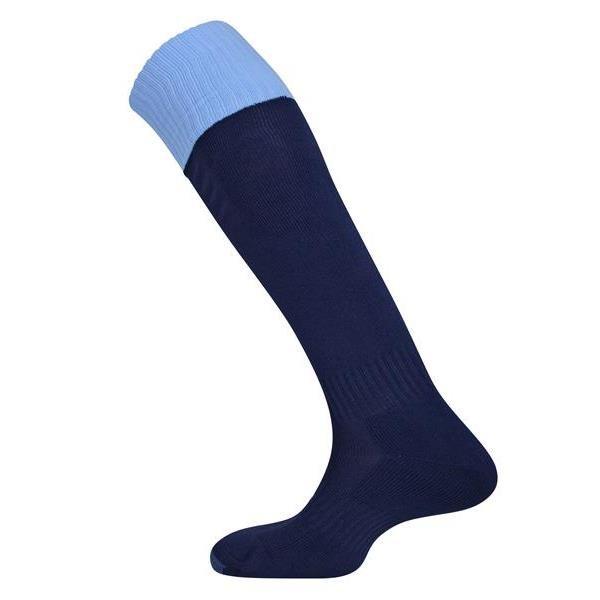 Prostar Mercury Contrast Navy/Sky Sock