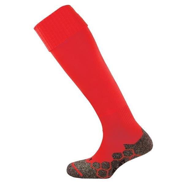 Prostar Division Plain Scarlet Football Sock