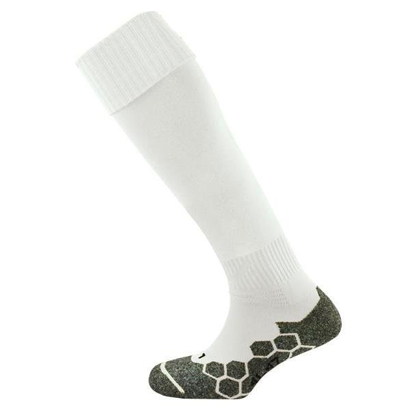 Prostar Division Plain White Football Sock