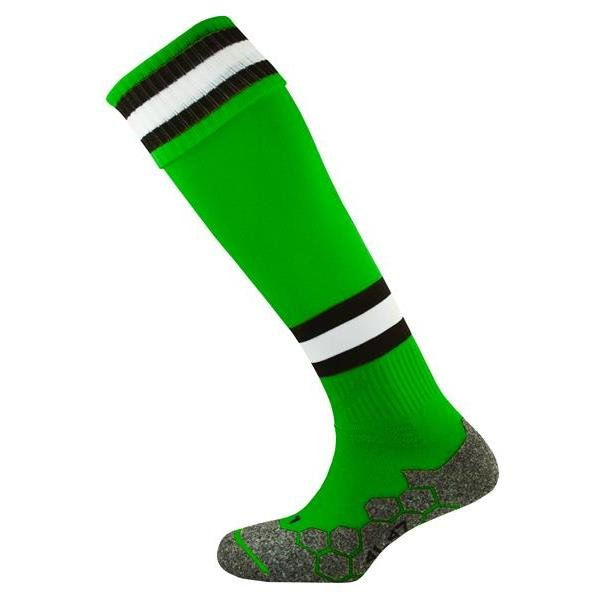 Division Tec Emerald/Black/White Football Sock