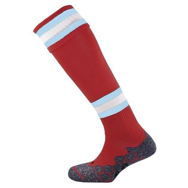 Prostar Division Tec Maroon/Sky/White Football Sock