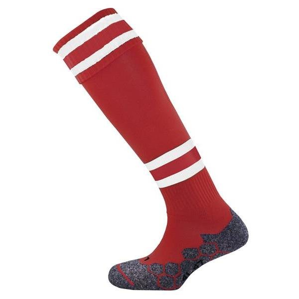 Division Tec Maroon/White Football Sock