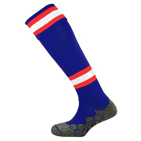 Division Tec Navy/Scarlet/White Football Sock