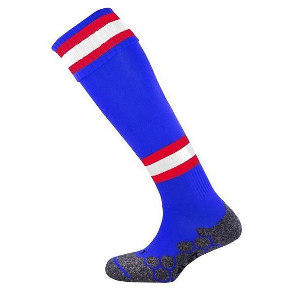 Division Tec Royal/Scarlet/White Football Sock