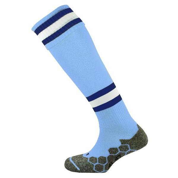 Division Tec Sky/Navy/White Football Sock