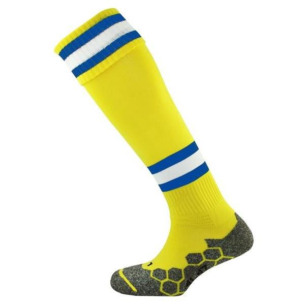 Division Tec Yellow/Royal/White Football Sock